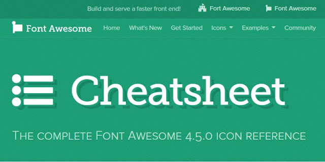 font-awesome-cheat-sheet-使用 Font Awesome 圖示速查表(cheat sheet), 安裝快速不麻煩