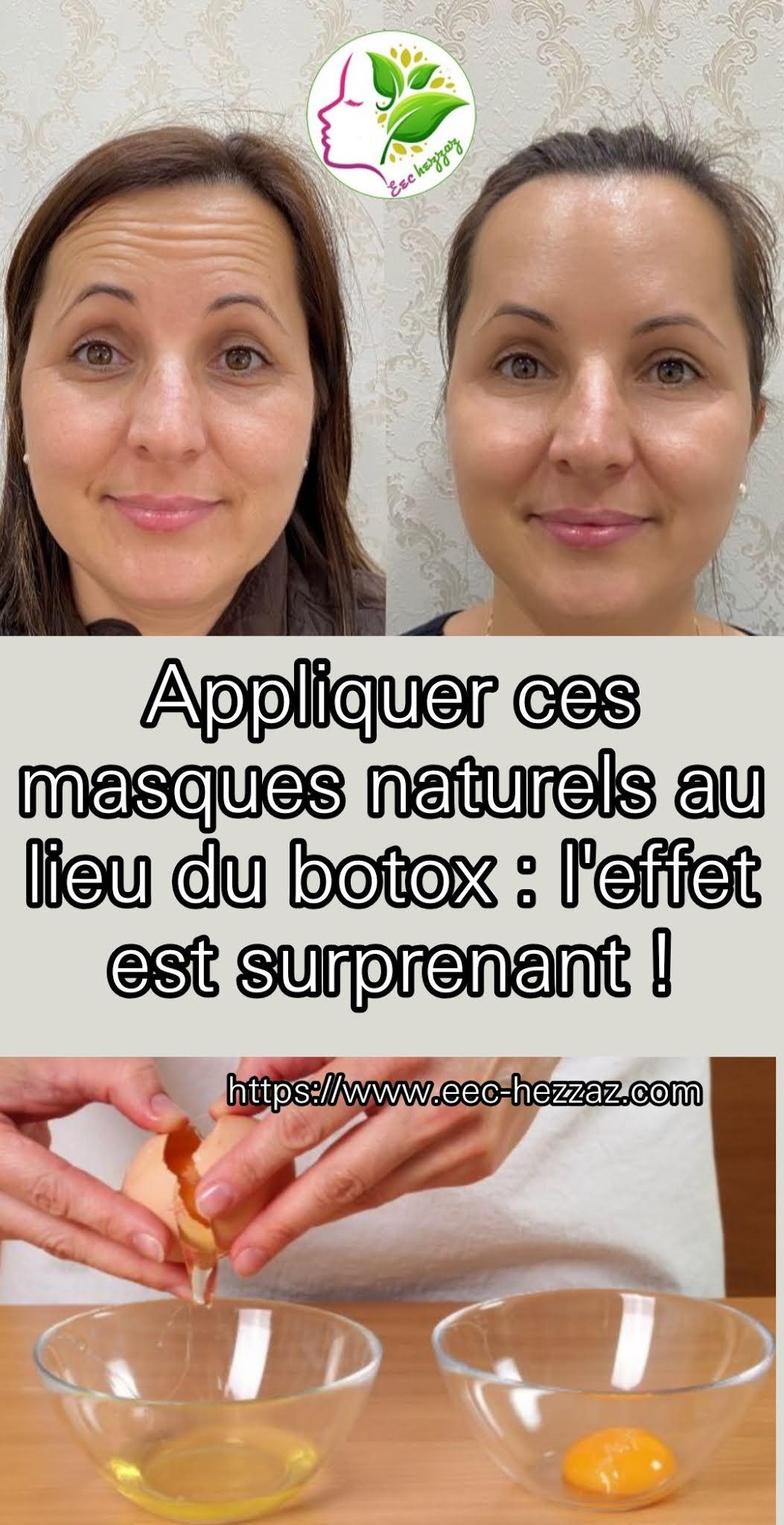 Appliquer ces masques naturels au lieu du botox : l'effet est surprenant !
