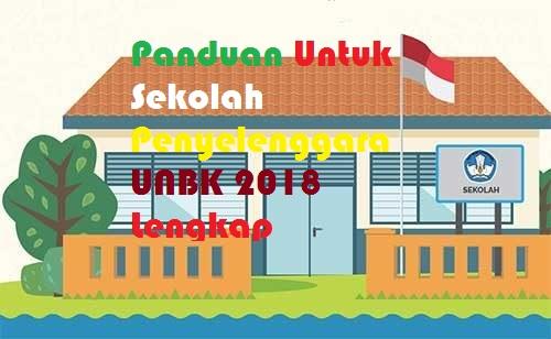 Panduan Untuk Sekolah Penyelenggara UNBK 2018 Lengkap