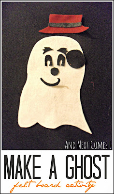 Ghost felt board play from And Next Comes L