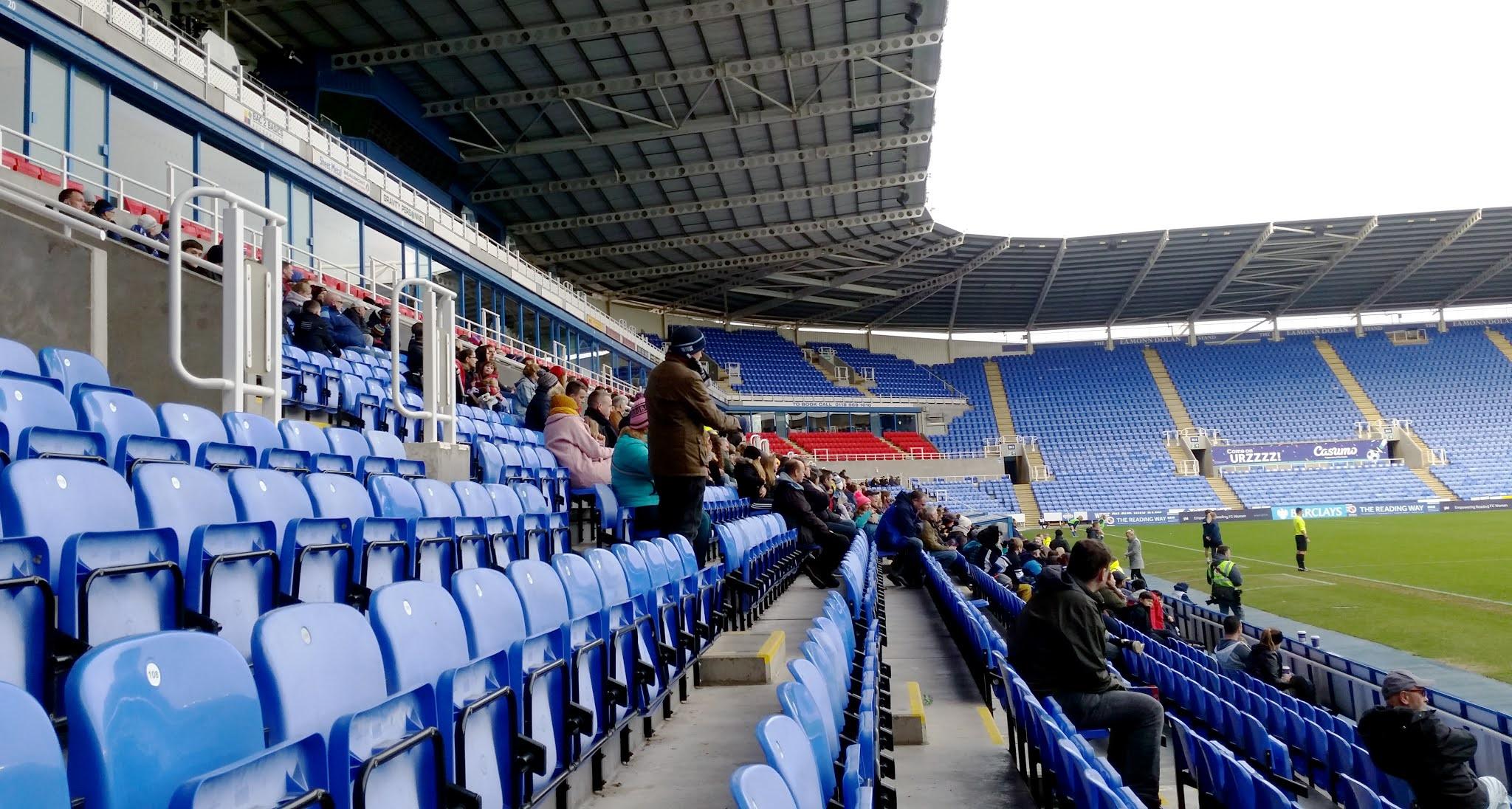 Fans at the Reading Women v Bristol City Women match