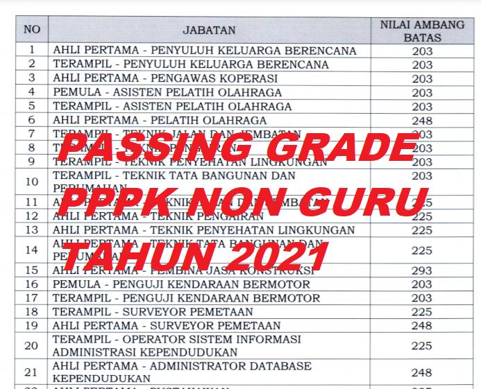 gambar passing pppk non guru tahun 2021
