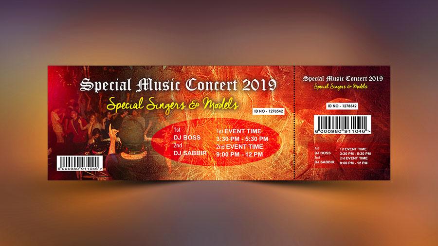 Music Event Ticket Design - Photoshop Tutorial - Apple Graphic Studio