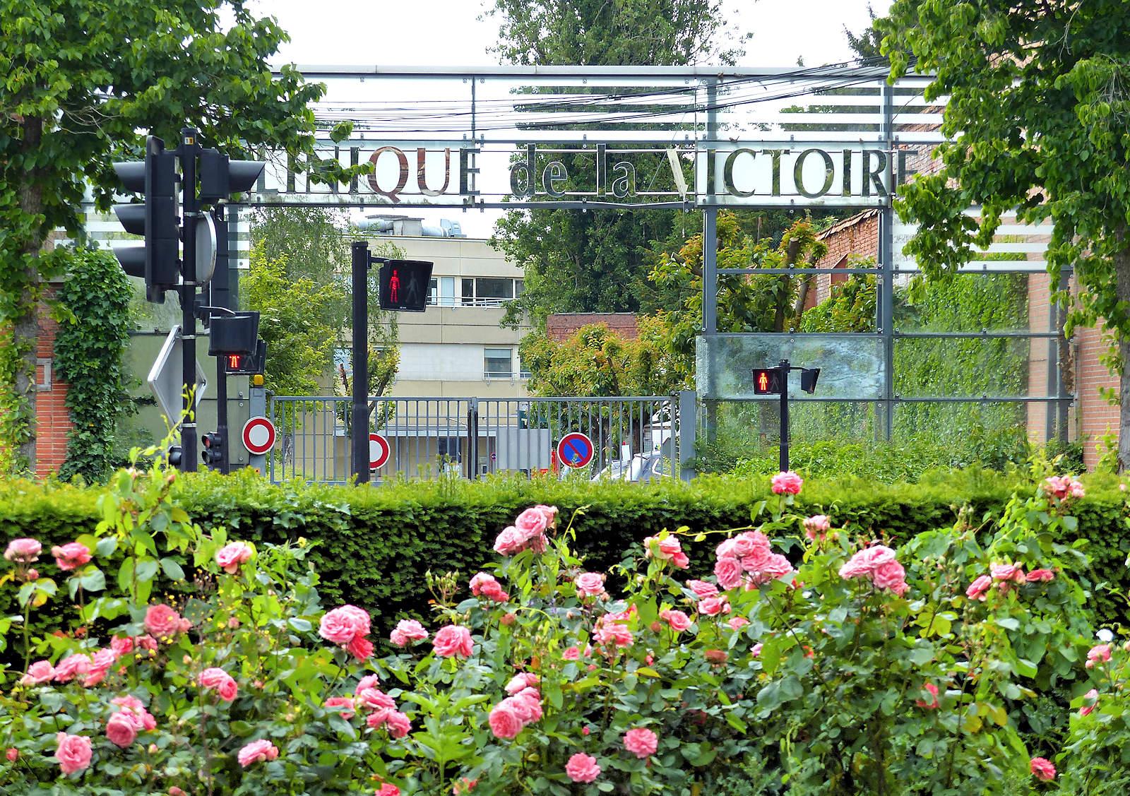 Clinique de la Victoire, Tourcoing - Sortie Parking