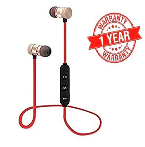 Stereo Wireless Magnetic Bluetooth Headset for All Smartphones,ear phones under 200