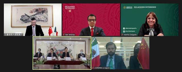 México y China firman acuerdo de cooperación regulatoria para productos médicos