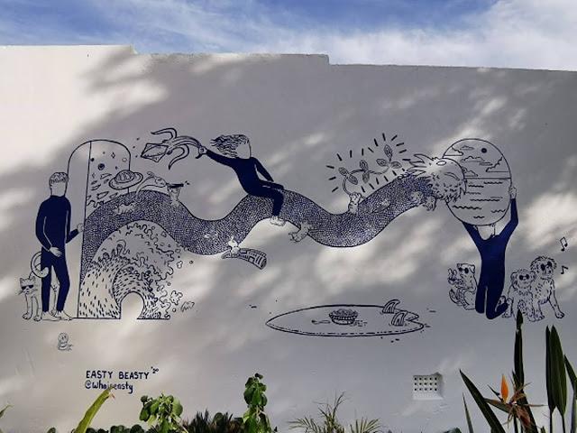 Bondi Street Art by EastyBeasty