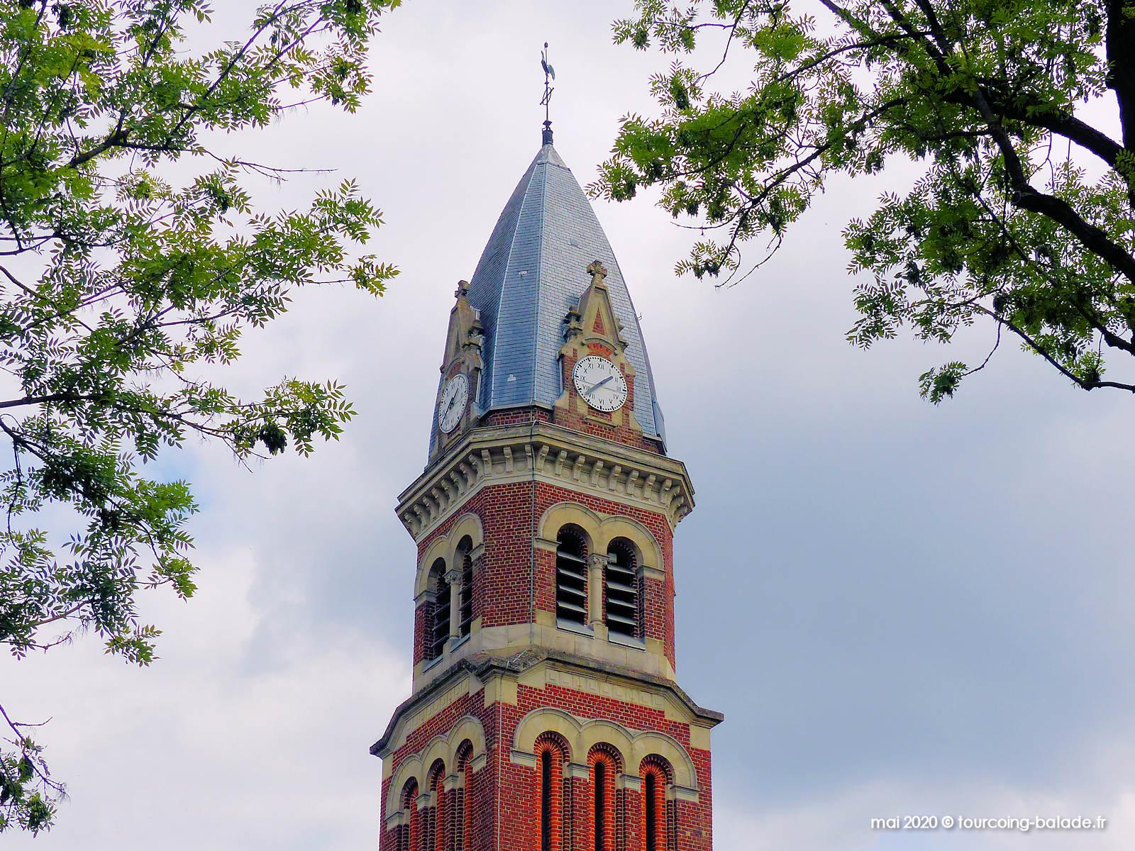 Clocher église Saint François, Mouvaux 2020