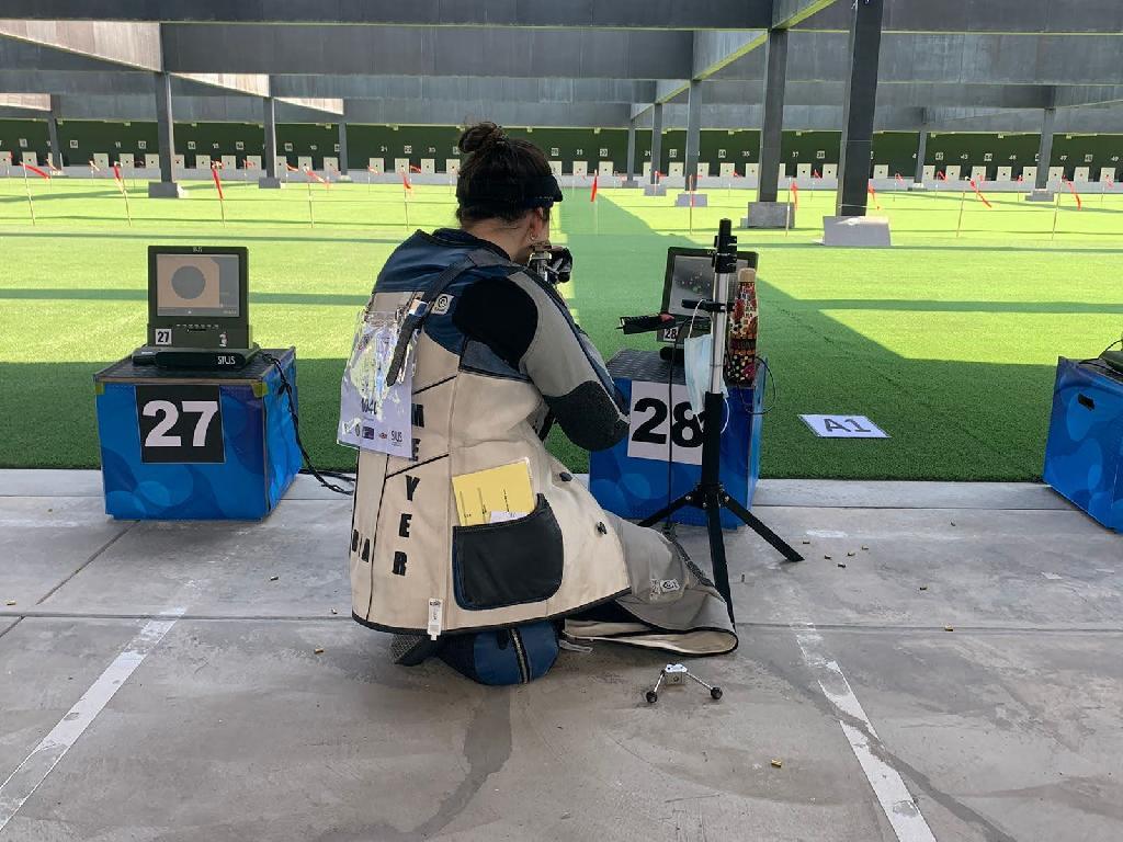 Geovana Meyer Mundial Júnior de tiro esportivo