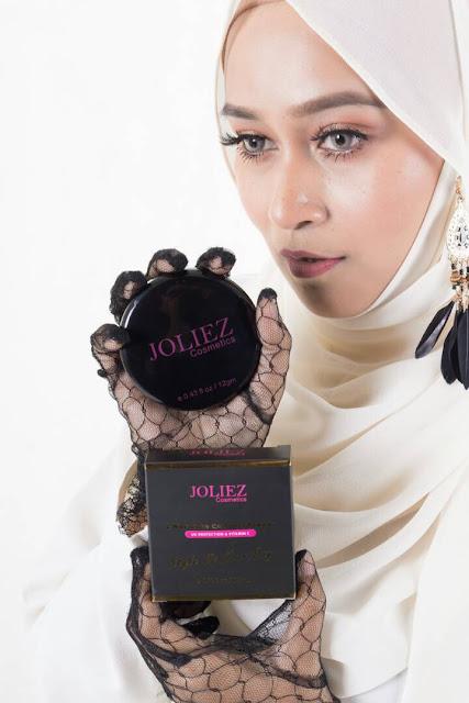 joliez cosmetics, bedak padat joliez, joliez compact powder