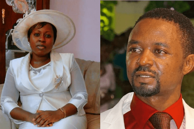 Prophet Frank Ndifor and Wife