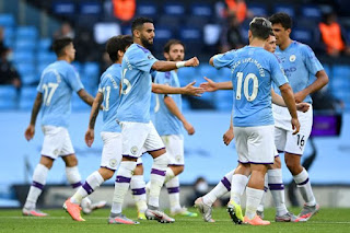 MAN CITY 5-0 BURNLEY: Folden and Mahrez on fire for Manchester City
