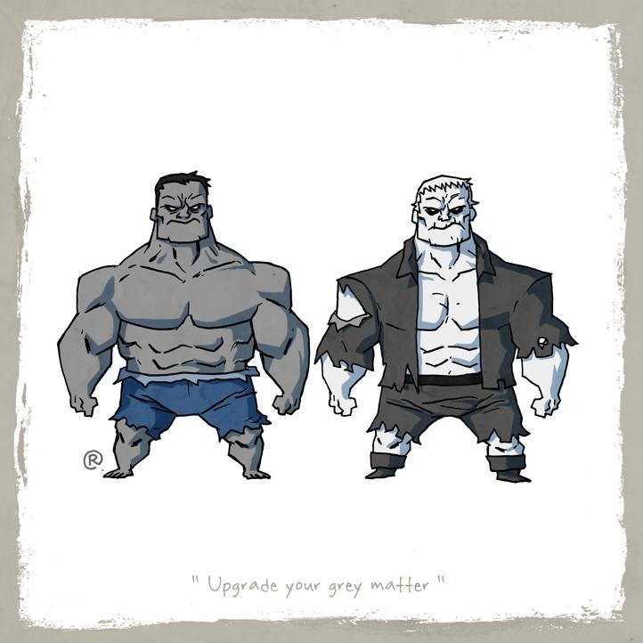 RAWLS: LITTLE FRIENDS - Hulk & Grundy