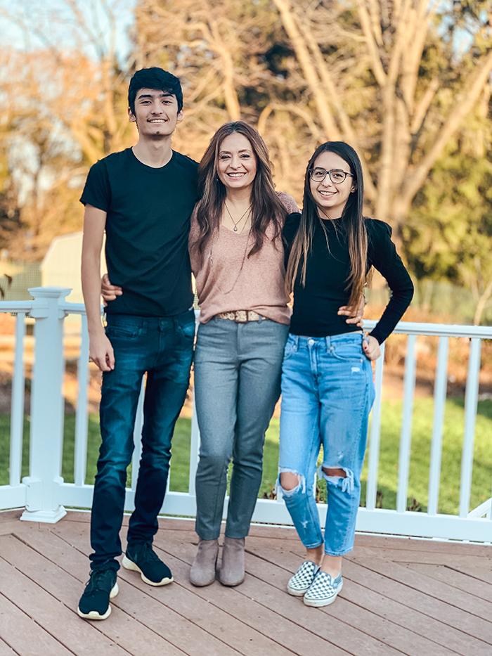Cristina GAray, Samantha Garay and Matthew Garay