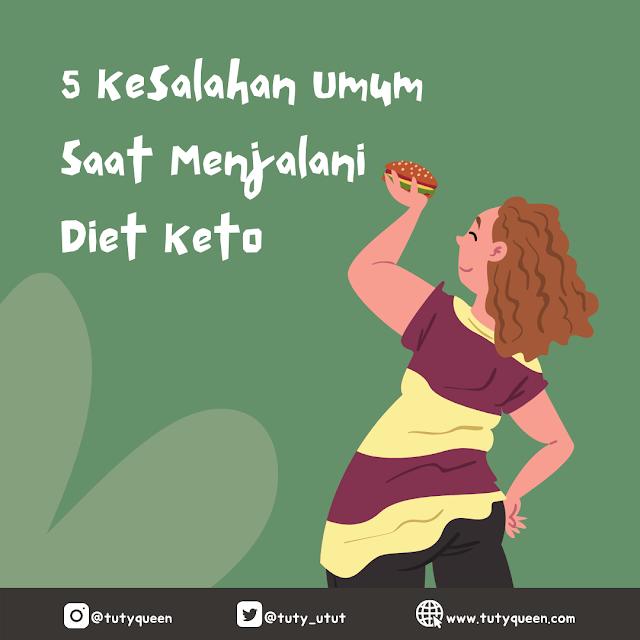 Kesalahan saat menjalani diet keto