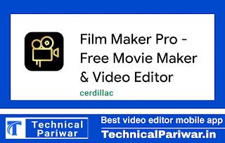 Film maker mobile app