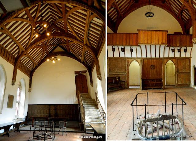 Brethren's Hall, antigo refeitório do Hospital of Saint Cross, em Winchester