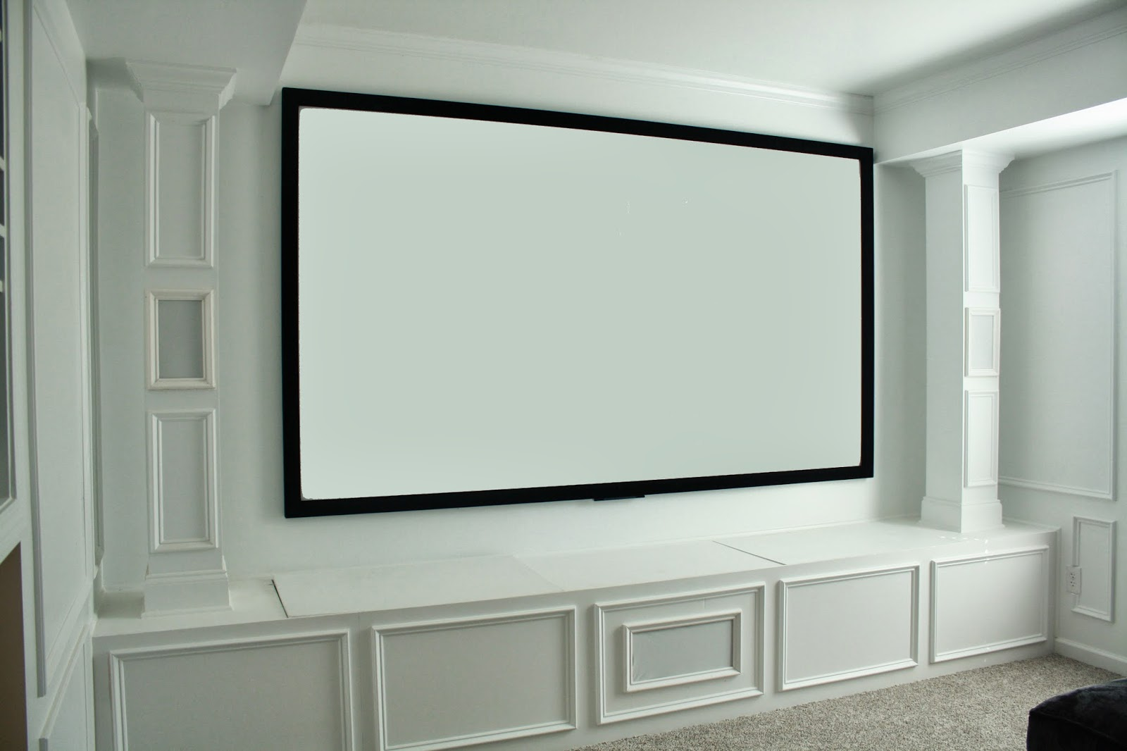 How To Paint Projection Wall