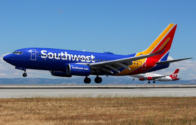 southwest airlines boeing 737-700 low cost airlines