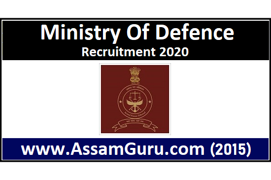 job in Ministry Of Defence