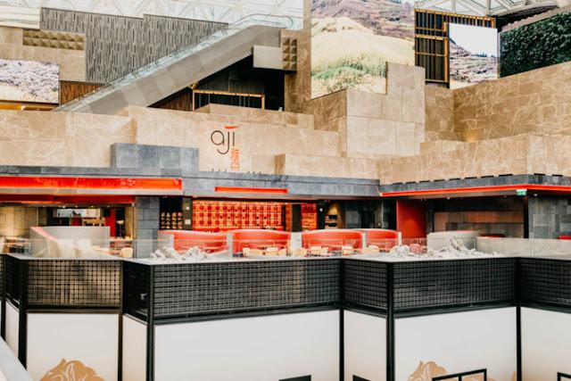 Aji Restaurant - the spirit child of famous Japanese chef Mitsuharu Taumura