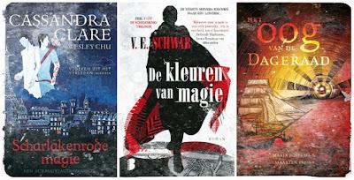 Cassandra Clare, VE Schwab, Maria Postema, Maarten Bruns, Blossom Books, De boekerij, Leopold