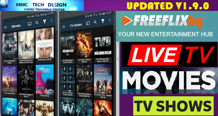 Download FreeFlixHQ1.9.0 App FREE (Live) Channel Stream Update(Pro) IPTV Apk For Android Streaming World Live Tv ,TV Shows,Sports,Movie on Android Quick FreeFlixHQ1.9.0 App FREE(Live) Channel Stream Update(Pro)IPTV Android Apk Watch World Premium Cable Live Channel or TV Shows on Android