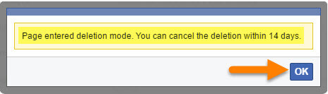 How to Delete a Page on Facebook