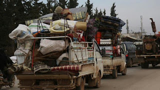 مدنيو إدلب: نطالب أوروبا بالتحرك لوقف هجمات النظام وروسيا