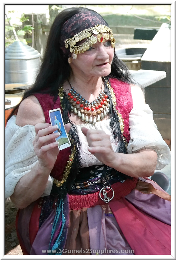 Fortune Teller in Kid's Cove at King Richard's Faire 2015 #krfaire