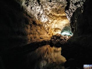 Lanzarote la Cueva de los Verdes