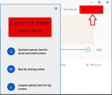 شرح كيفية دمج مجموعة من الفيديوهات بدون برامج فى ويندوز 10