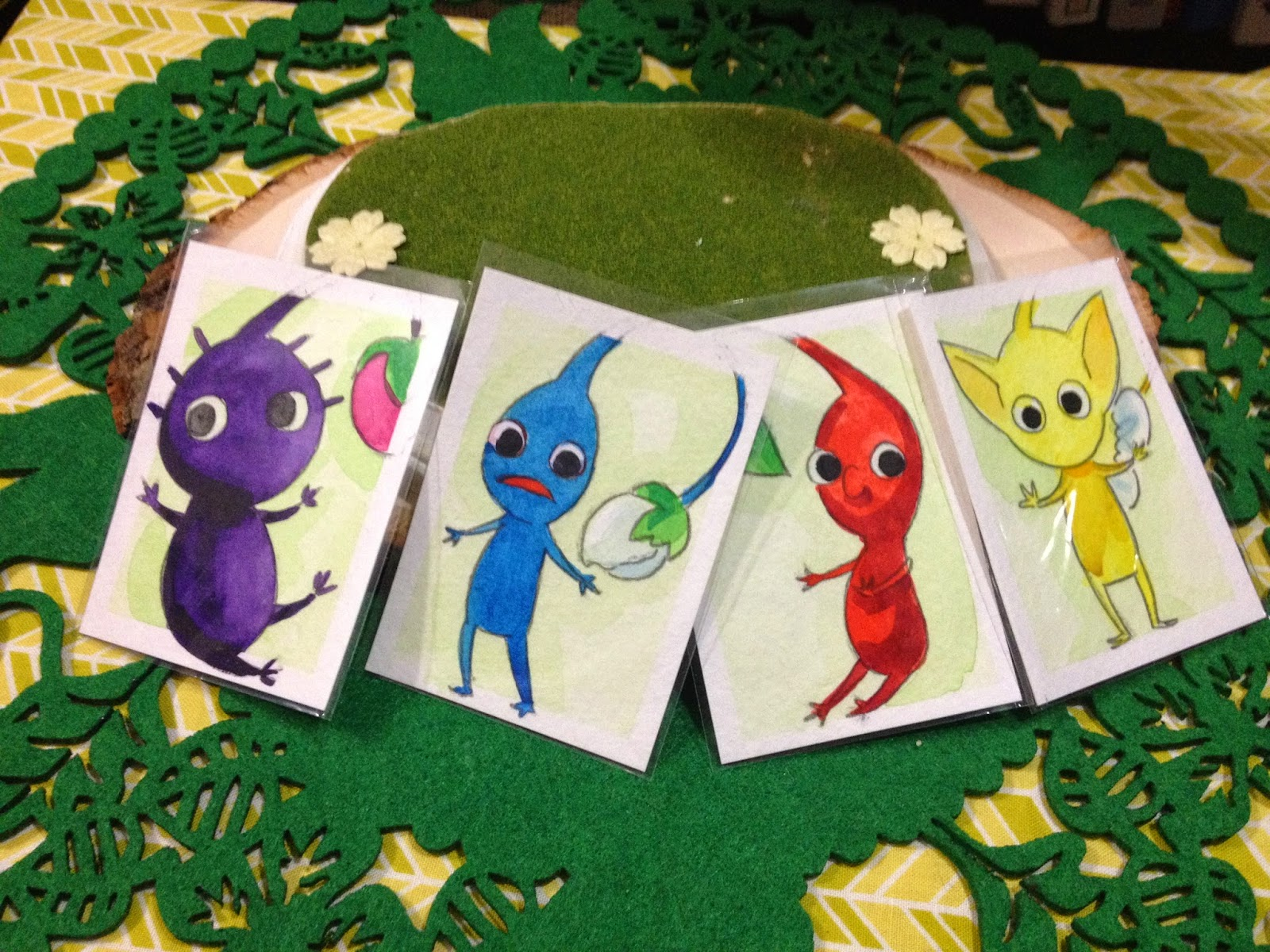 Pikmin Watercolor