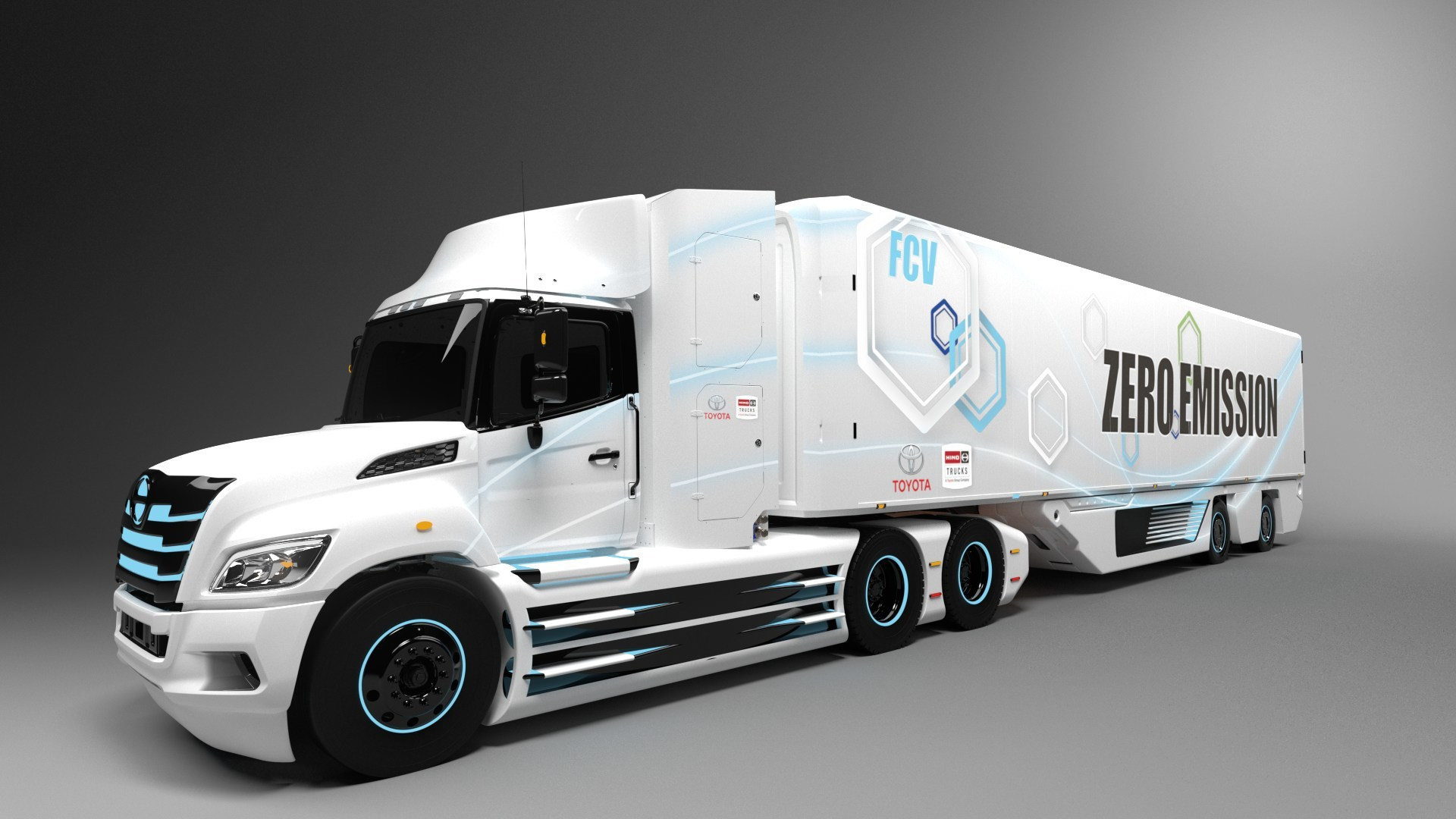 Hino Trucks And Toyota Jointly Develop Class 8 Fuel Cell Electric Truck For North America