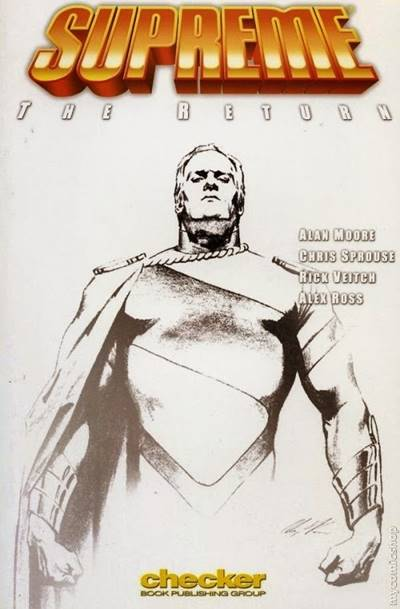 Alex Ross dibujó la portada de Supreme
