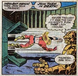 Fantastic Four 153-Thundra-WorldsInCollision