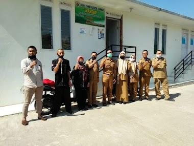 Monev DPMD Provinsi  dan DPMD Kabupaten Cianjur ke Bumdes Mantap