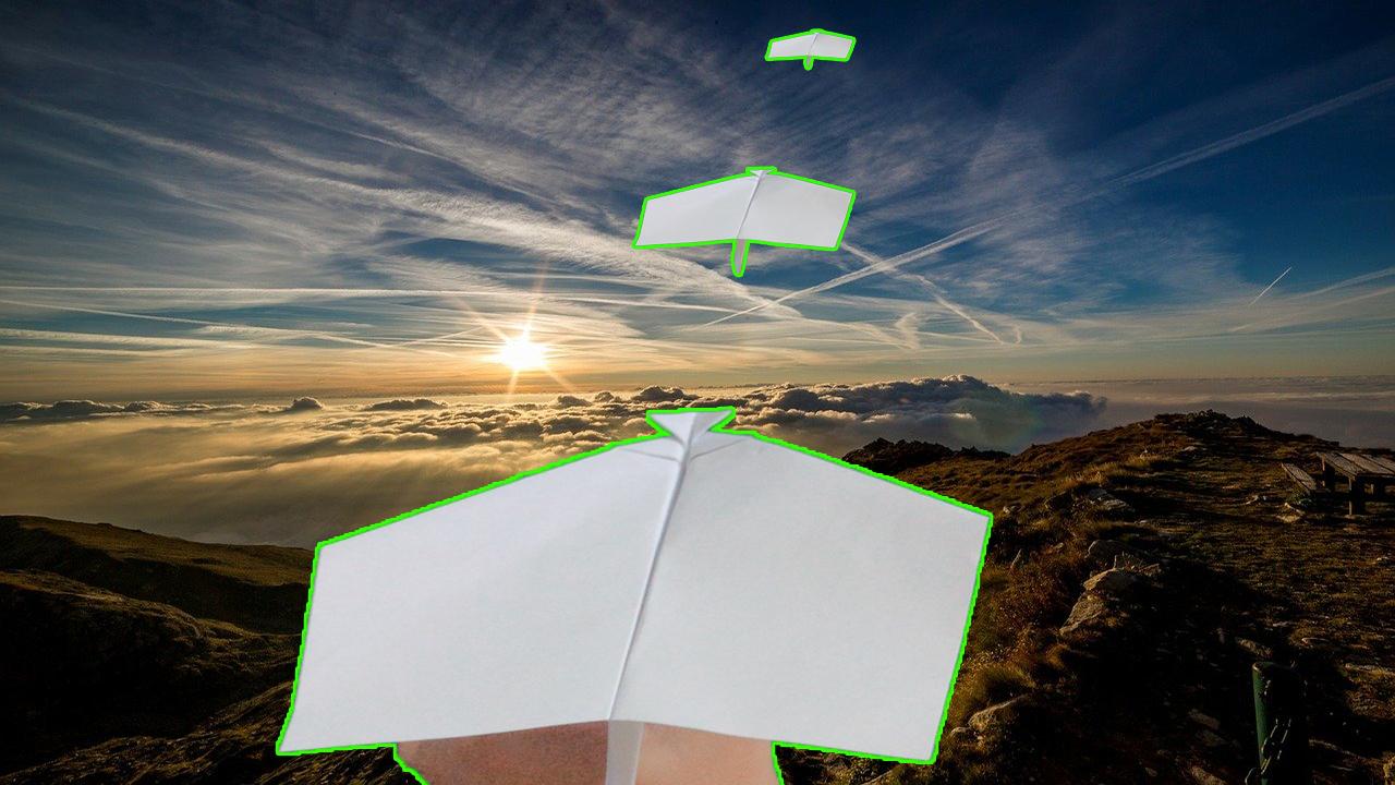 Cách gấp xếp máy bay bằng giấy bay rất xa - Mũi tên bạc