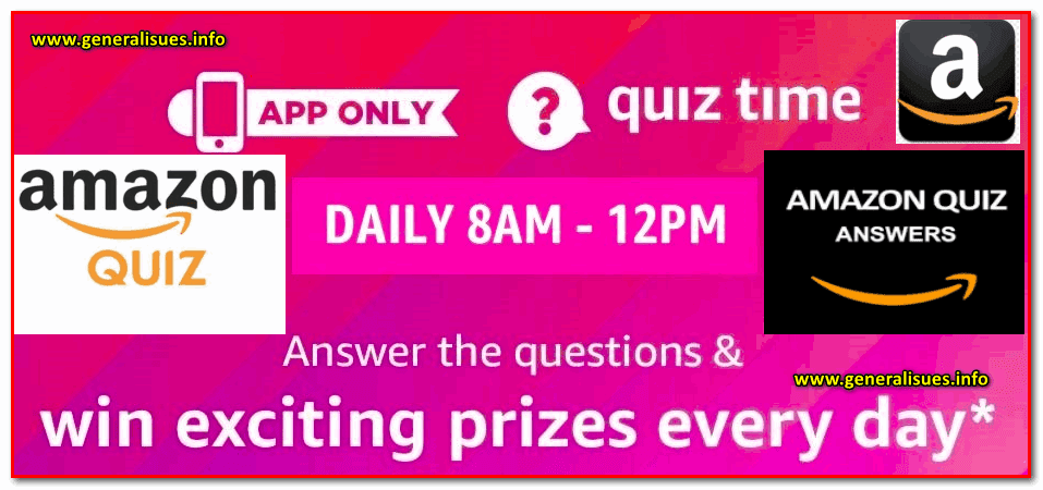 Amazon_Daily_quiz_contest_answers