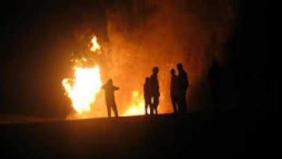 عاجل الان الاهرام تؤكد خبر الانفجار ومصرع واصابه 16 شخص وسيارات الاسعاف والامن تملى وادى النطرون