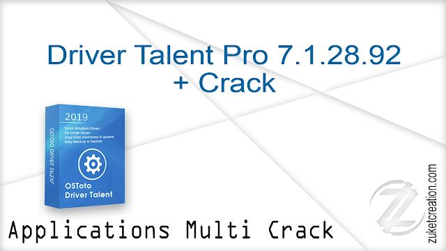Driver Talent Pro 7.1.28.92 + Crack