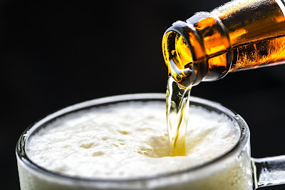 advantages of beer drinking of health in hindi