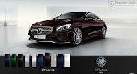 Mercedes S500 4MATIC Coupe 2017 màu Đen Ruby 897