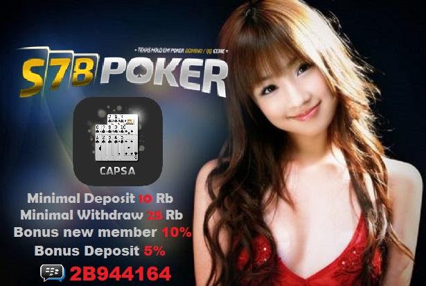 S78Poker Agen Judi Poker Online