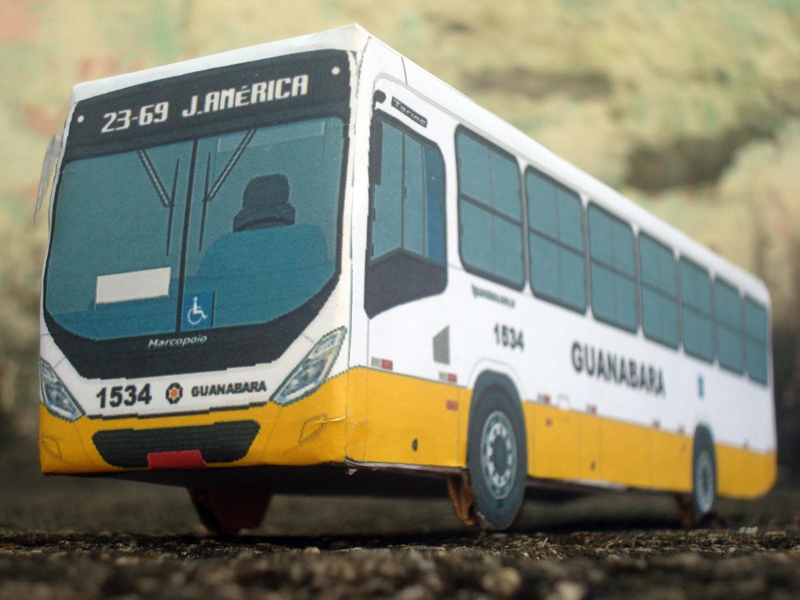 Transportes Guanabara 1534 e os Parabéns aos 07 Anos do Busão de Natal