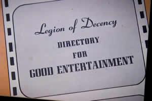 The Legion of Decency