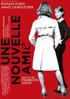 affiche du film de François Ozon UNE NOUVELLE AMIE