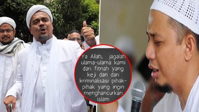 Habib Rizieq Shihab Dijadikan Tersangka, Ustadz Arifin Ilham Posting Ini di Instagramnya