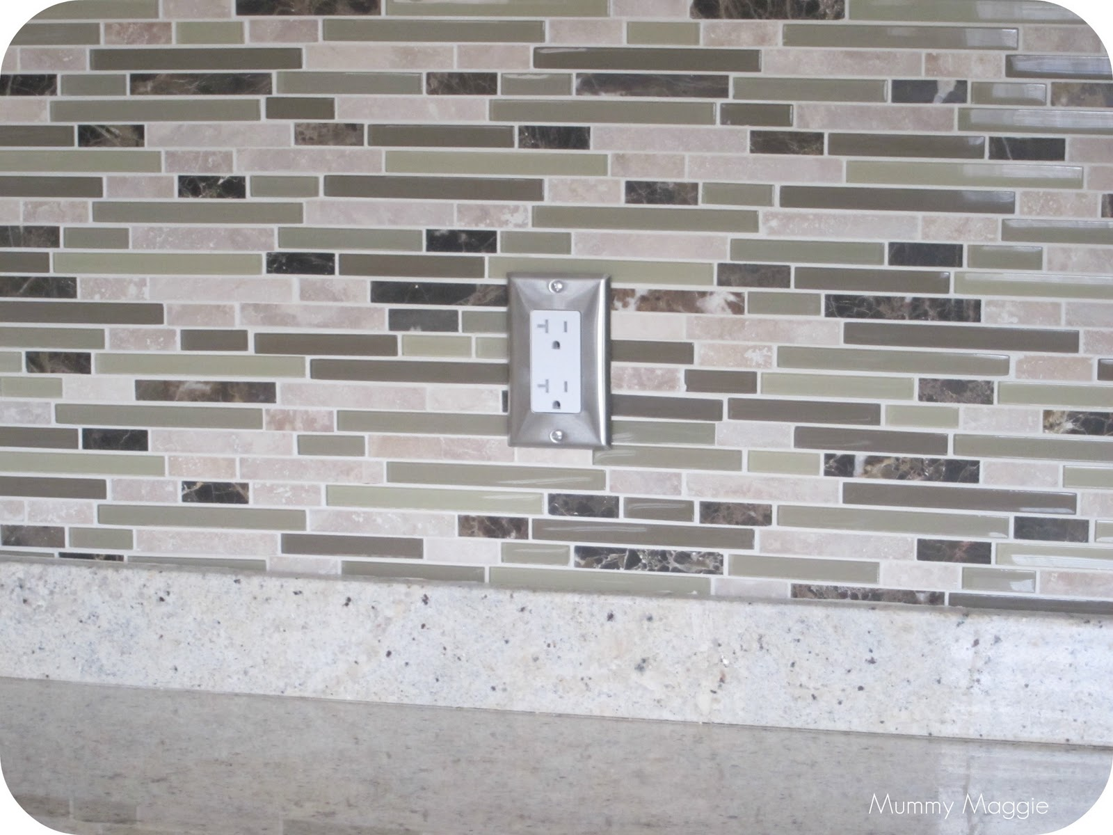 backsplash tiles costco mummy maggie chronicles kitchen makeover reveal 160