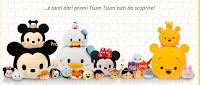 Con Disney scatta e vinci buoni acquisto e set Tsum Tsum Mickey, Minnie e Paperino